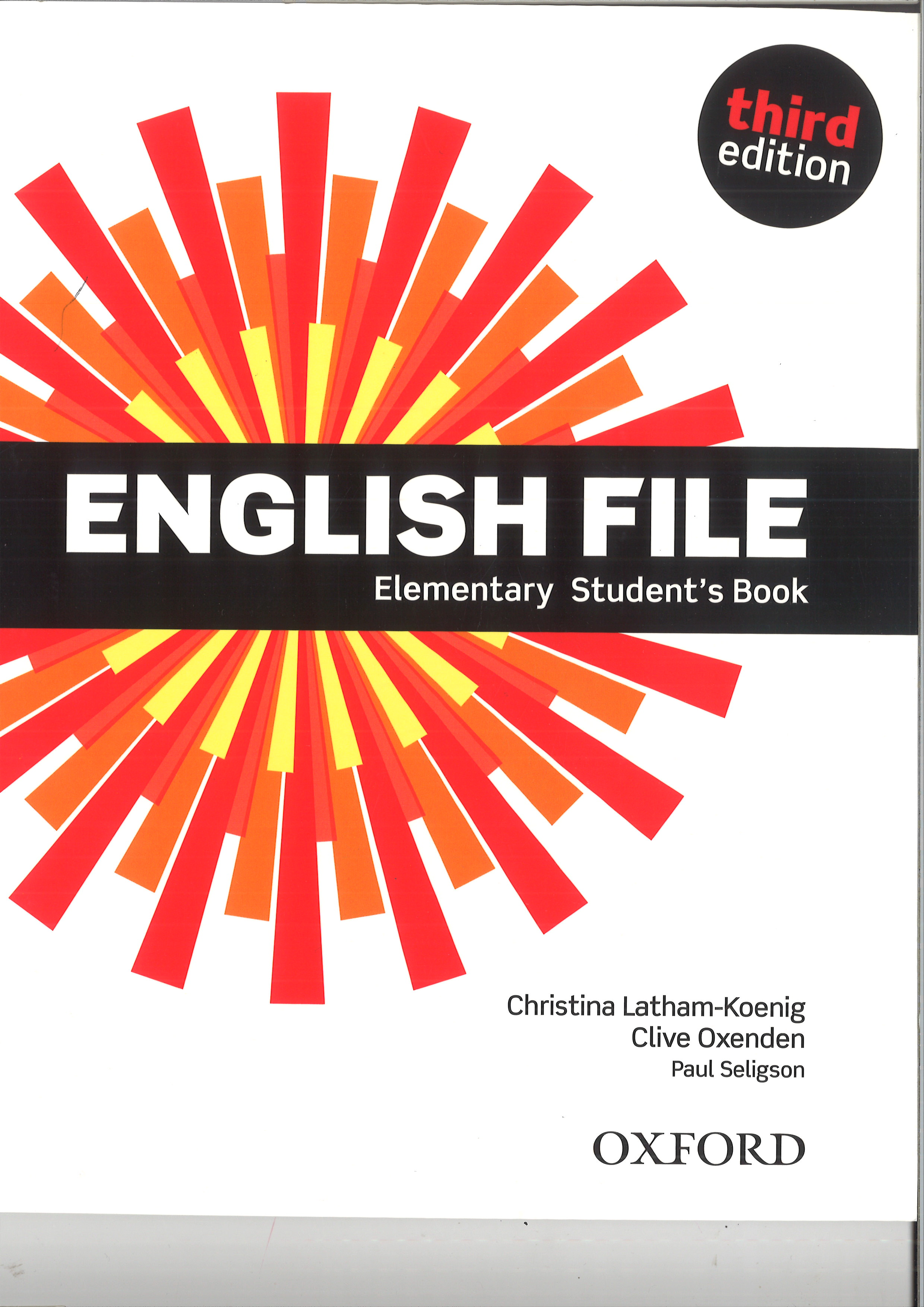 English File 3rd edition elementary SB