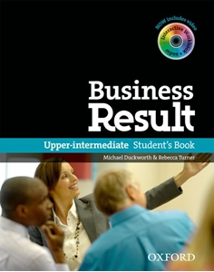 Business Result upper SB + DVD-rom