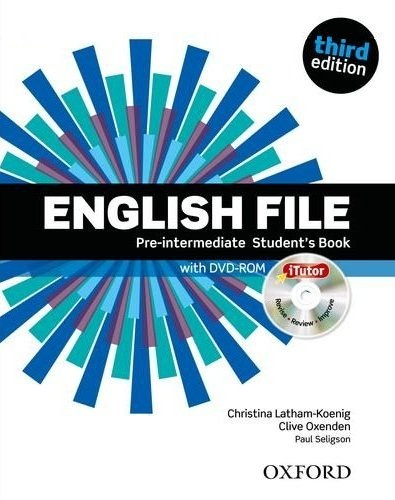 English File 3ed pre-intermadiate SB + iTutor