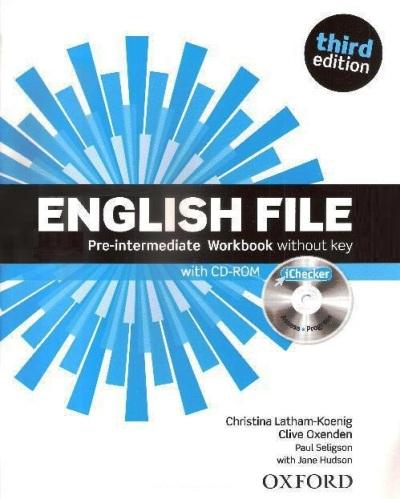 English File 3ed pre-inter WB without key + iChecker