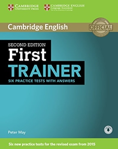 First Trainer 2ed Six Practice Tests with answers with Audio, dostawa do 14 dni