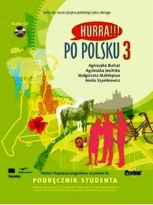 Hurra!!! Po polsku 3 Podręcznik studenta +CD