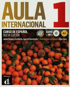 Aula Internacional Nueva 1 Podręcznik z ćwicz+CD, dostawa do 14 dni