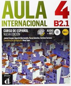 Aula Internacional Nueva 4 Podręcznik z ćwicz+CD, dostawa do 14 dni
