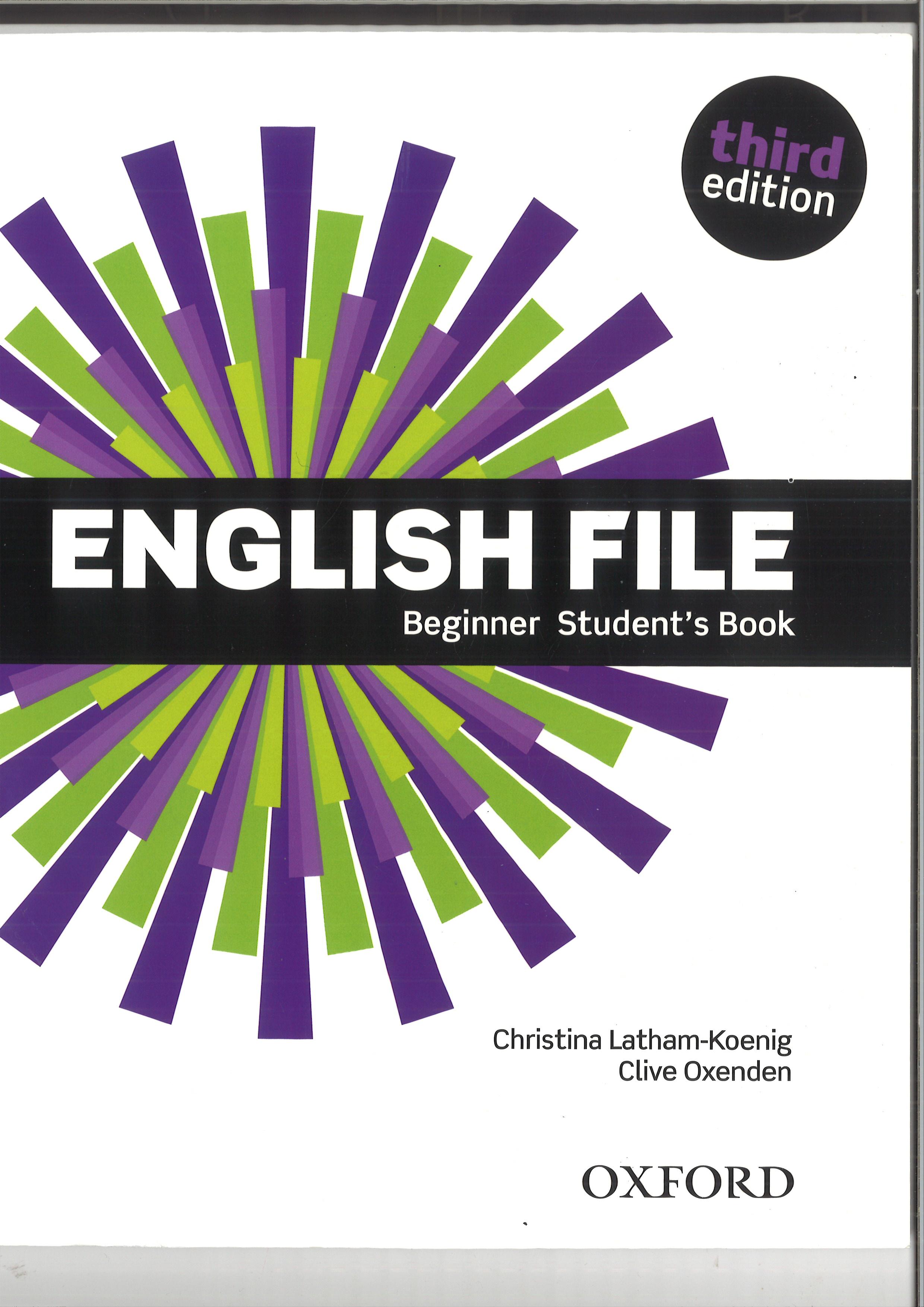 English File 3rd edition beginner SB